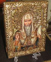Икона, Святитель Алексий, митрополит Московский и всея Руси, чудотворец