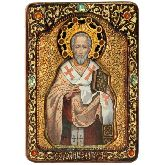 Святитель Иоанн Златоуст, Живописная икона, 21 Х29