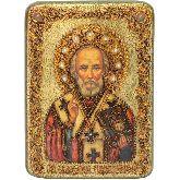 Святитель Николай, архиепископ, Аналойная икона, 21 Х29
