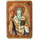 Святитель Спиридон Тримифунтский, Большая икона, 29 Х42