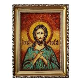 Святой Алексий из янтаря