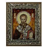 Святой Андрей Первозванный икона из янтаря