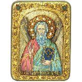 Святой апостол Андрей Первозванный, Подарочная икона, 15 Х20