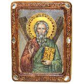 Святой апостол Андрей Первозванный, Живописная икона, 21 Х29