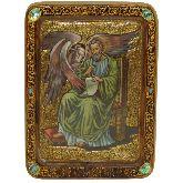 Святой апостол и евангелист Лука, Живописная икона, 21 Х29