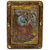 Святой апостол и евангелист Марк, Живописная икона, 21 Х29