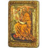 Святой апостол и евангелист Матфей, Настольная икона, 10 Х15