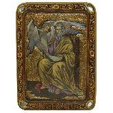 Святой апостол и евангелист Матфей, Живописная икона, 21 Х29