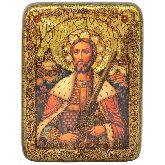 Святой благоверный князь Александр Невский, Подарочная икона, 15 Х20