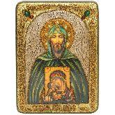 Святой Благоверный великий князь Игорь, Аналойная икона, 21 Х29