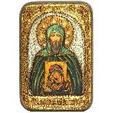 Святой Благоверный великий князь Игорь, Настольная икона, 10 Х15