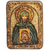 Святой Благоверный великий князь Игорь, Подарочная икона, 15 Х20