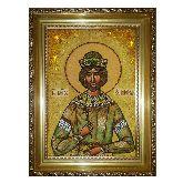 Святой князь Ярополк из янтаря