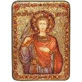 Святой мученик Трифон, Аналойная икона, 21 Х29