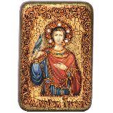 Святой мученик Трифон, Настольная икона, 10 Х15