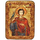 Святой мученик Трифон, Подарочная икона, 15 Х20