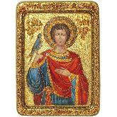 Святой мученик Трифон, Живописная икона, 21 Х29