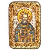 Святой праведный Иоанн Кронштадтский, Настольная икона, 10 Х15