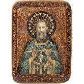 Святой праведный Иоанн Кронштадтский, Живописная икона, 21 Х29