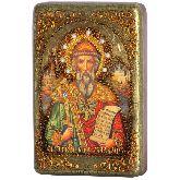 Святой равноапостольный князь Владимир, Настольная икона, 10 Х15