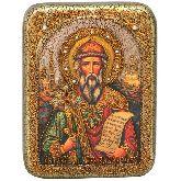 Святой равноапостольный князь Владимир, Подарочная икона, 15 Х20