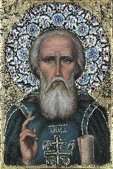 Икона, Святой Сергий Радонежский