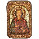 Святой Великомученик и Целитель Пантелеимон, Настольная икона, 10 Х15