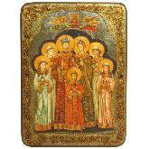 Святые царственные страстотерпцы, Аналойная икона, 21 Х29