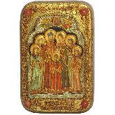 Святые царственные страстотерпцы, Настольная икона, 10 Х15