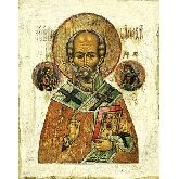Купить икону Свт. Николай Чудотворец НЧ-02-3 12х9,5