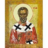 Купить икону Свт. Николай Чудотворец НЧ-08-2 18х14