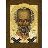 Купить икону Свт. Николай Чудотворец НЧ-10-2 24х18