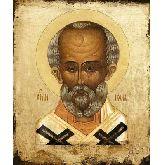 Купить икону Свт. Николай Чудотворец НЧ-21-1 30х25