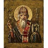 Купить икону Свт. Спиридон Тримифунтский СТ-01-3 12х10