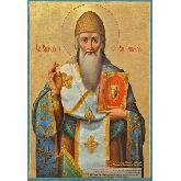 Купить икону Свт. Спиридон Тримифунтский СТ-03-2 40х28
