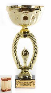 Кубок подарочный Пламя в овале Лучшему среди равных,первому среди лучших 25см