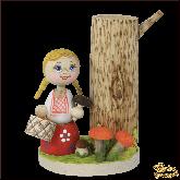 Карандашница из дерева ручной работы По грибы.