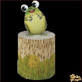 Коробочка из дерева ручной работы Лягушка.