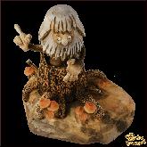 Композиция из дерева ручной работы Леший.