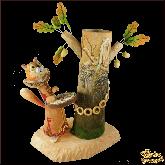 Композиция из дерева ручной работы У лукоморья.