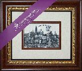 Сергиев-Посад. Троицко-Сергиева лавра, рамка художественный багет, 365х315