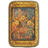 Троица, Настольная икона, 10 Х15