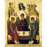 Купить икону Троица Ветхозаветная арт Т 02 18х14