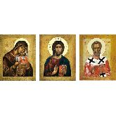 Стоимость иконы Триптих арт ТР-08ун 12х9,5