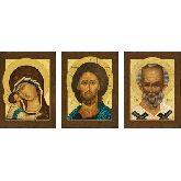 Купить икону Триптих арт ТР-10ин 30х22