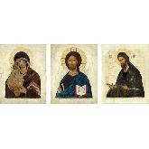 Стоимость иконы Триптих арт ТР-11дп 12х9,5