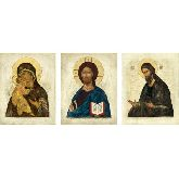 Купить икону Триптих арт ТР-11вп 24х19