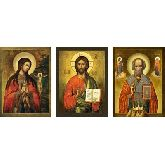 Стоимость иконы Триптих арт ТР-12ан 12х9