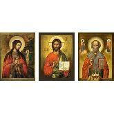 Купить икону Триптих арт ТР-12ан 24х18