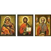 Купить икону Триптих арт ТР-12вн 30х22